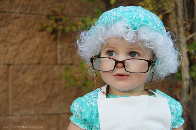 granny-costume-670x446  sc 1 st  Barely Vogue & Last Minute Halloween Costume Ideas for your kids.